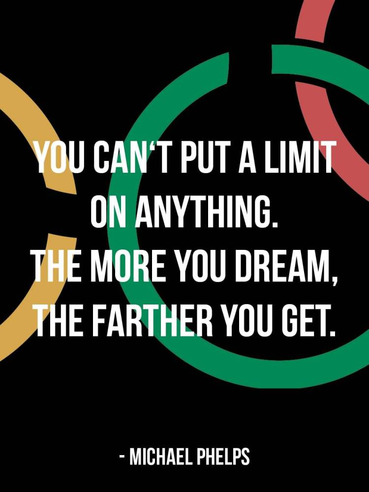 Determination sayings you can't put a limit