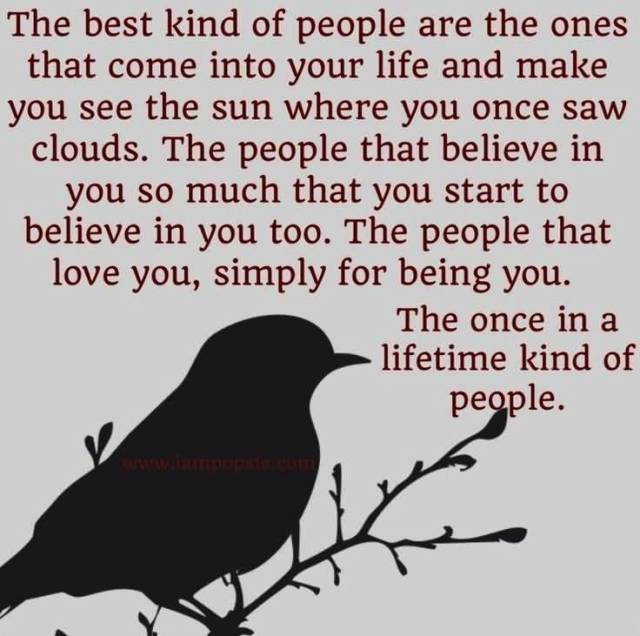 Dignity Quotes the best kind of people are the ones that come into your life