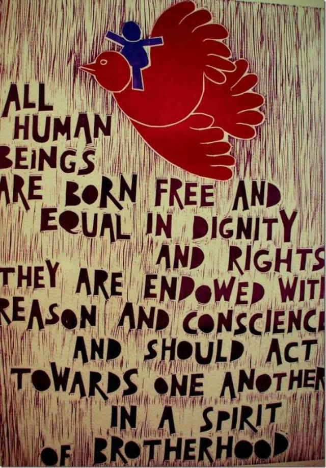 Dignity Sayings all human beings are born free and equal in dignity and rights they are