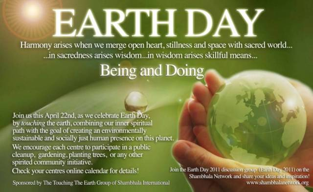 Earth Day Quotes earth day harmony arise when we merge open