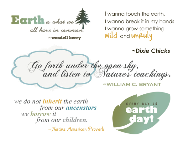 Earth Day Quotes earth is what we all have in common