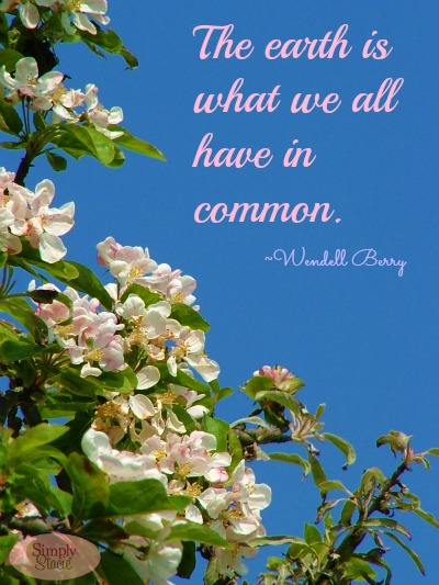 Earth Day Quotes the earth is what we all have in common