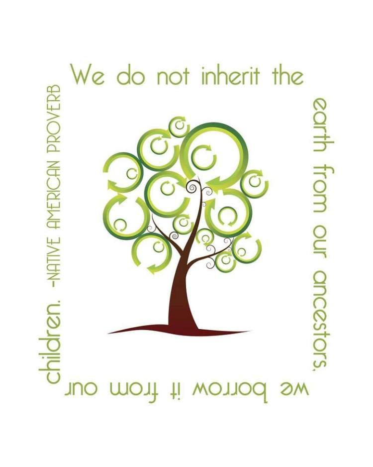 Earth Day Quotes we do not inherit the