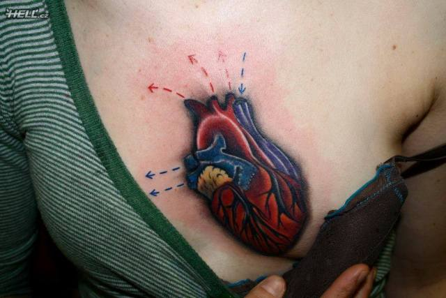 Fabulous Hell Tattoo For Chest Tattoo Fans