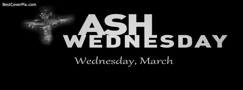 Facebook Ash Wednesday Cover Image