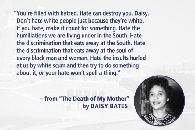 From The Death Of My Mother By Daisy Gatson Bates