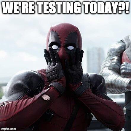Funny Deadpool Meme We're Testing Today