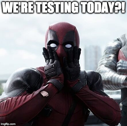 Funny Deadpool Meme We're Testing Today
