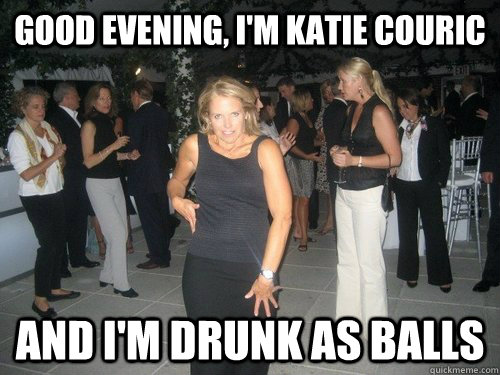 Good Evening Memes good evening i m katie couric