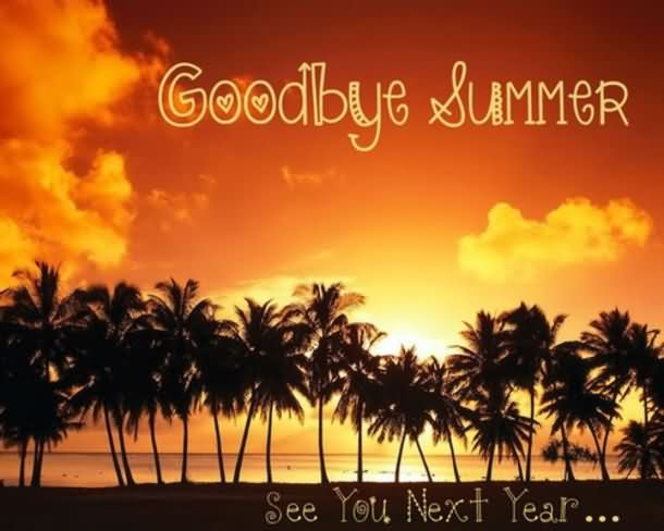 Goodbye Summer Quotes goodbye summer see you next year
