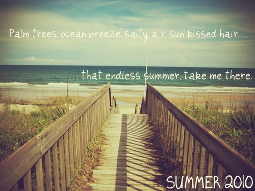 Goodbye Summer Quotes palm trees ocean breeze salty air sun kissed hair