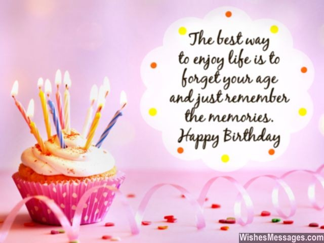 Happy Birthday Sayings the best way to enjoy
