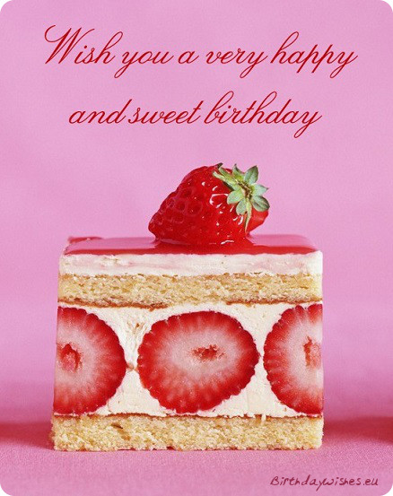 Happy Birthday Sayings wish you a very happy and