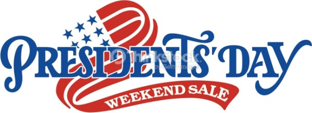 Happy President's Day Weekend Sale Cover Image