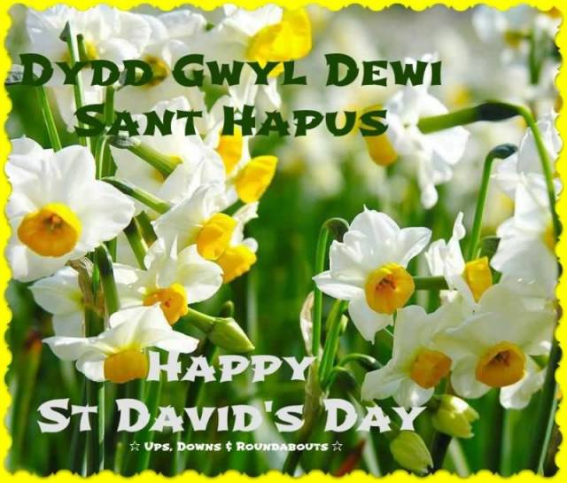 Happy St David's Day Wishes Message Greetings Image