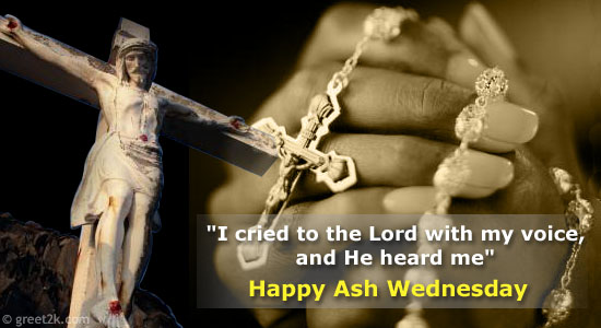 Have A Holy Ash Wednesday Images