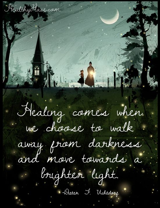 Healing Quotes healing comes when we choose to walk