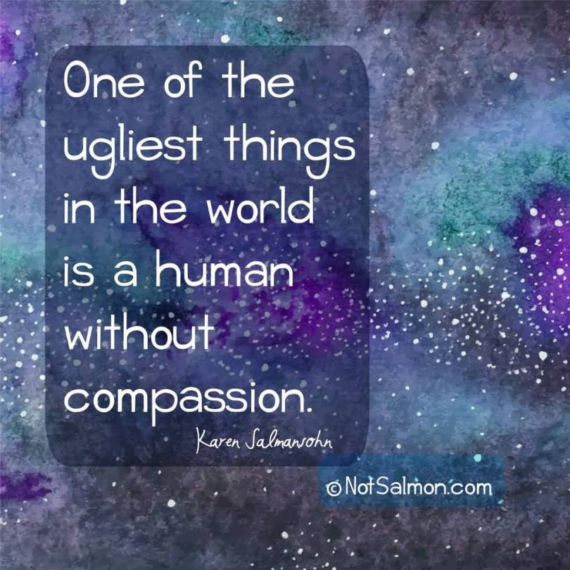 Healing Quotes one of the ugliest things in the world is a human without