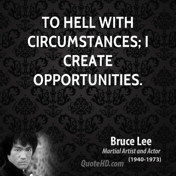 Hell Quotes to hell with circumstances