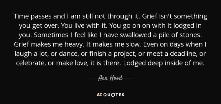 Hood Quotes time passes and i am still not through it