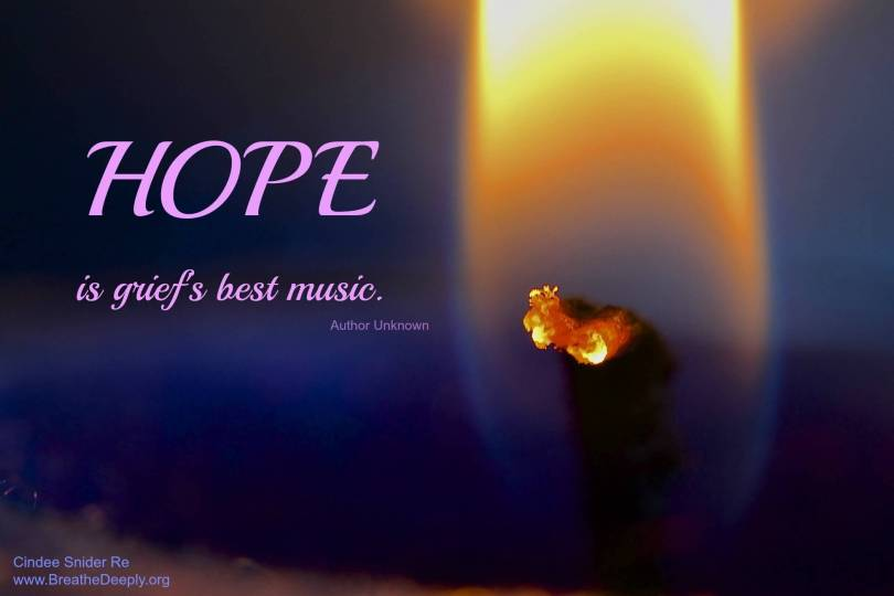 Hope Quotes hope is grief's best music