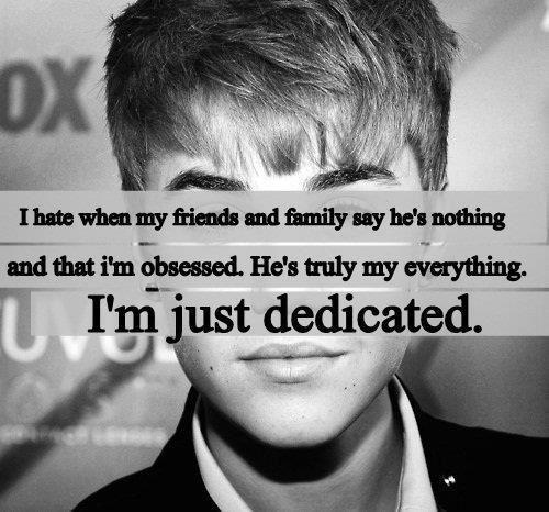 Justin Bieber Quotes i hate my friends and family say he's nothing