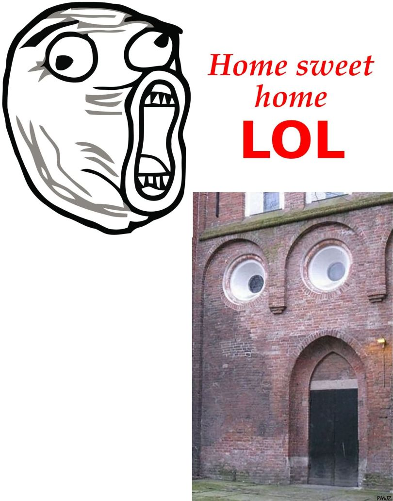 LOL Memes Home sweet home lol
