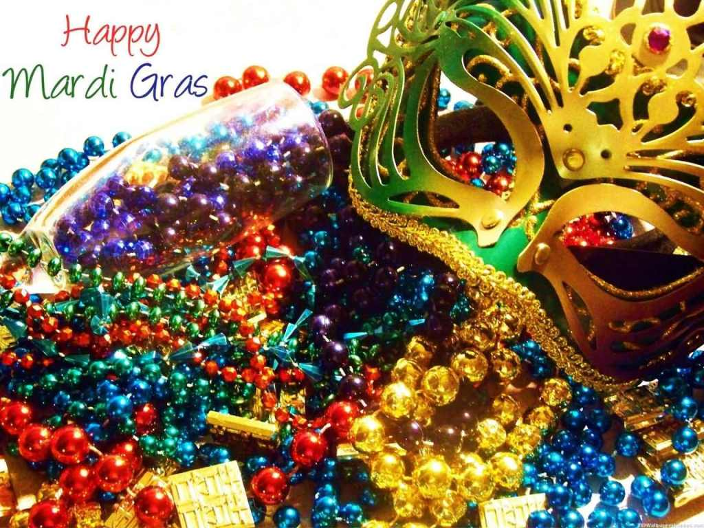 Mardi Gras Wishes Image
