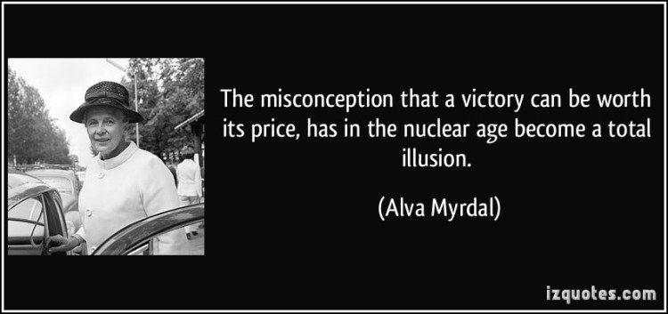 Misconception Sayings the misconception that a victory can be worth its price