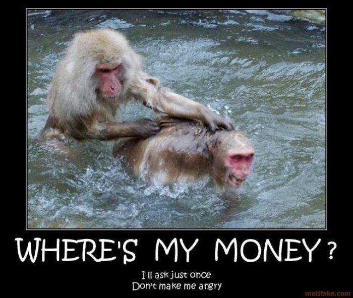 Money Meme where's my money