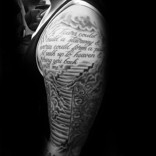 49 Best Heaven Tattoos Designs Ideas Photos Picsmine