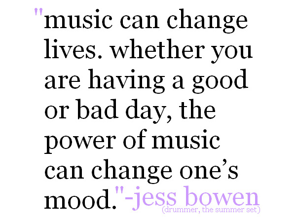 Attractive Music Quotes Music Can Change Lives Whether You Are Having A Good Or Bad Day Nice Ideas
