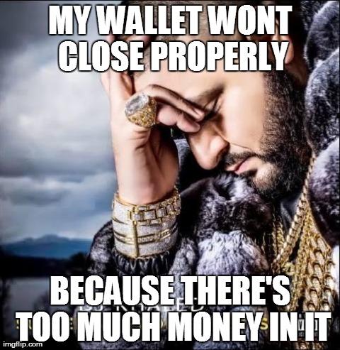 My Wallet wont close properly Money Meme