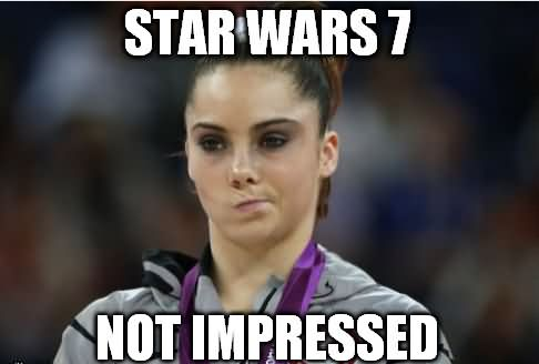 Olympics Memes Star wars7 not impressed