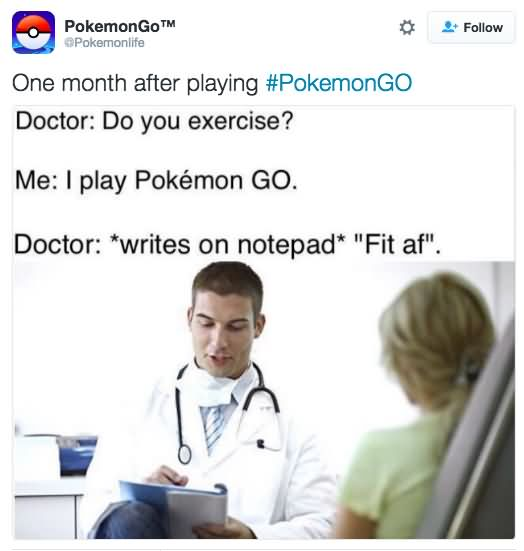 One Month After Playing Pokemon Go Memes