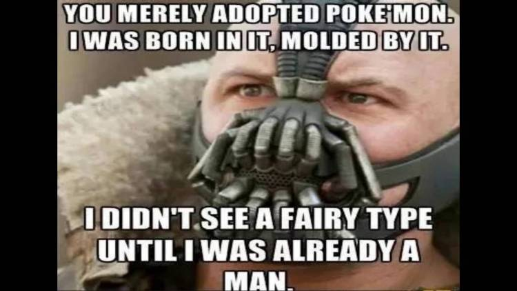 Pokemon Go Meme You Merely Adopted Poke'Mon. I Was Born In It