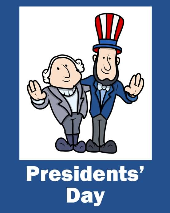 President's Day Best Greetings Card Image
