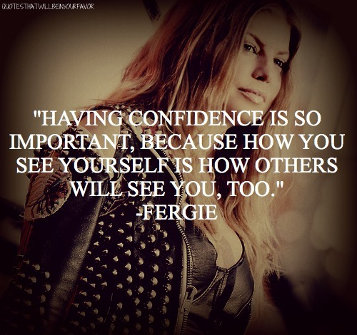 Singer Quotes having confidence so important
