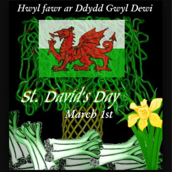 St David's Day March 1st Wishes Image