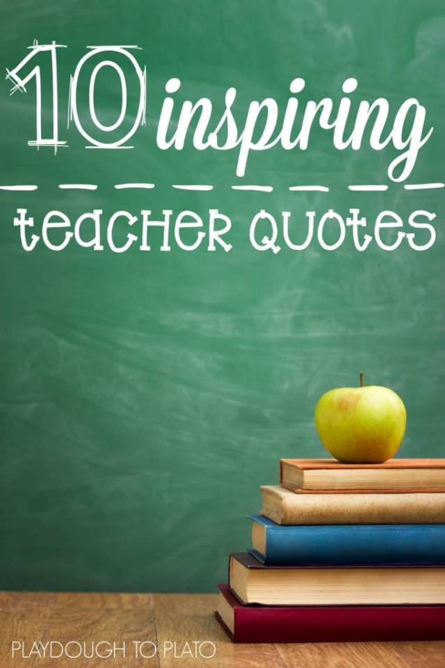 Teach Quotes 10 inspiring teacher quotes