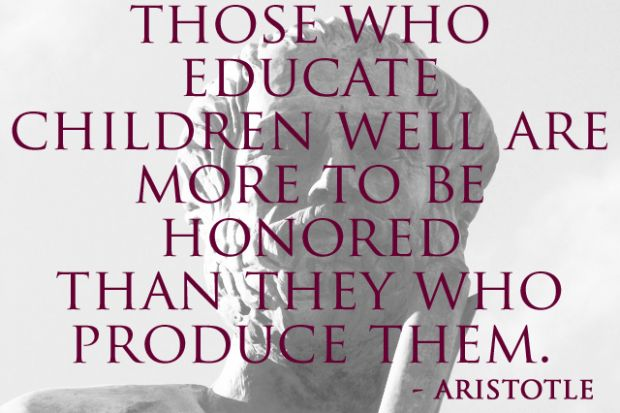 Teach Quotes those who educate children well are