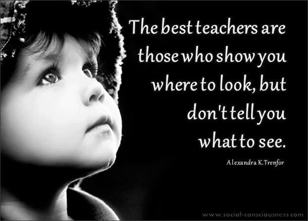 Teacher Quotes the best teachers are those who show you