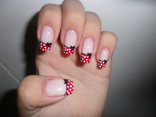 Tremendous Bow Nails On Tip
