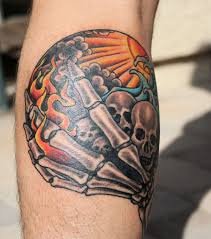 Ultimate Hell Tattoos on Arm For men