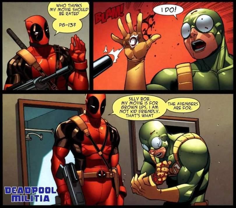 37 Funny Deadpool Jokes, Gifs, Graphics & Pictures | Picsmine