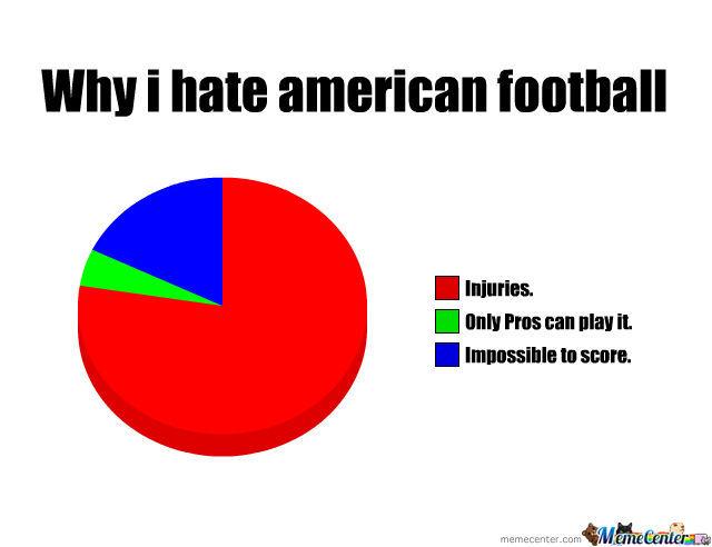 Why i hate American football American Football Meme