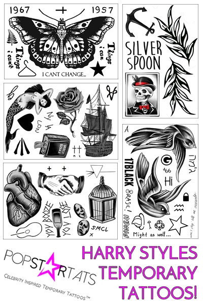 35 Amazing Harry Styles Tattoos Designs Ideas amp Images  : inspiring harry styles tattoo for wallpaper from picsmine.com size 400 x 600 jpeg 93kB