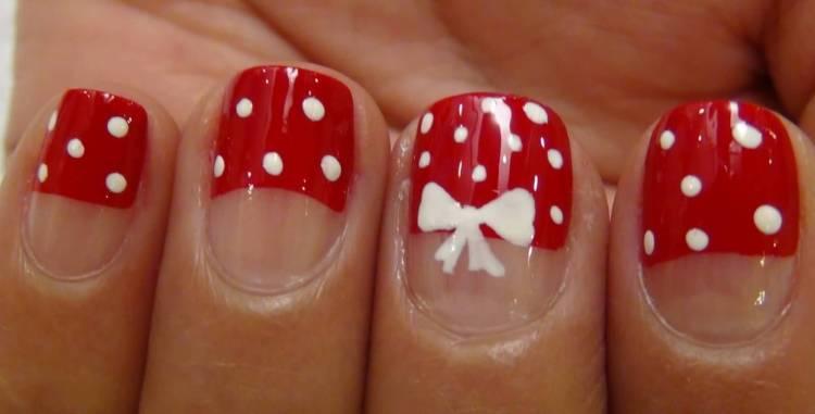 nice Bow Nails