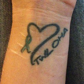 weird Depression Tattoo On Arm For Boys