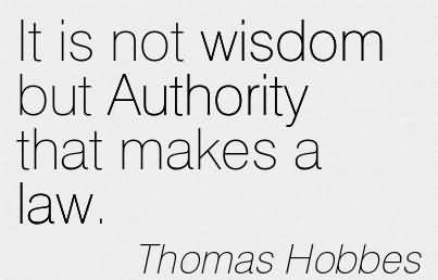 002 Thomas Hobbes Quotes